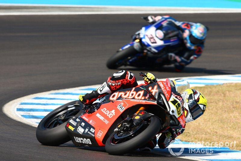 Alvaro Bautista, Aruba.it Racing-Ducati Team y Marco Melandri, GRT Yamaha WorldSBK