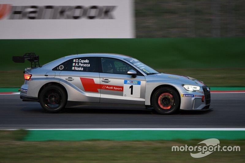 Capello-Perucca-Fontana, Scuderia del Girasole, Audi RS3 LMS TCR DSG