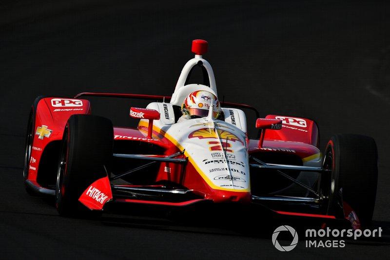 8º: #2 Josef Newgarden, Penske Shell V-Power Nitro Plus Team, Team Penske Chevrolet: 228.416 mph
