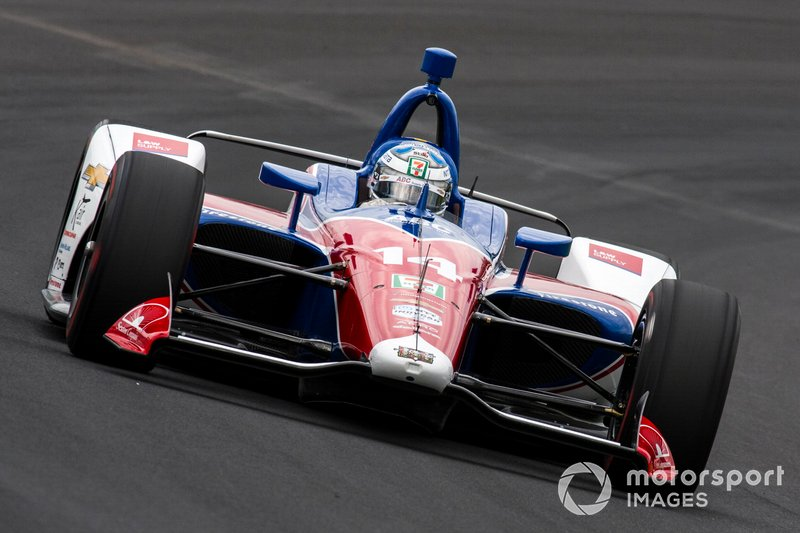 16. Tony Kanaan, A.J. Foyt Enterprises Chevrolet