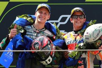 Фабио Куартараро, Petronas Yamaha SRT, и Марк Маркес, Repsol Honda Team