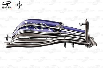 الجناح الأمامي لسيارة مكلارين ام.سي.آل34