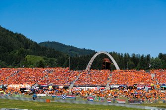 Huge Dutch crowd support for Max Verstappen, Red Bull Racing
