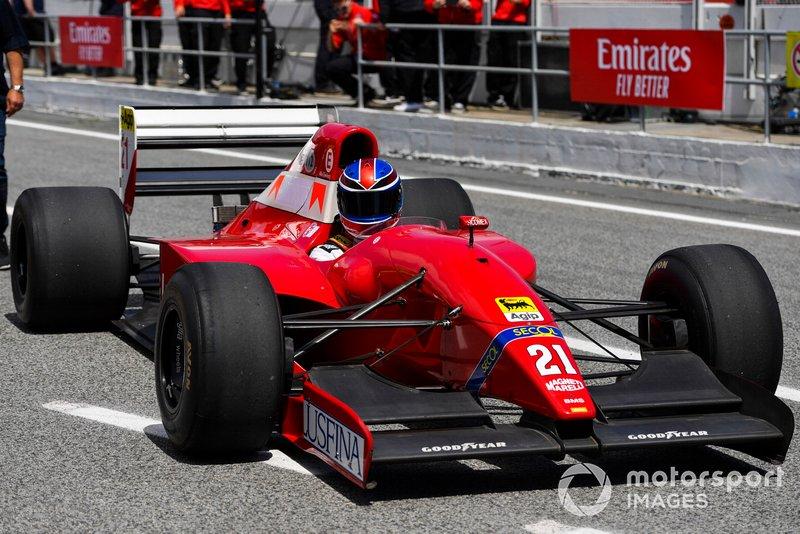 Mike Dewhirst, 1992 Scuderia Italia Dallara Ferrari F192
