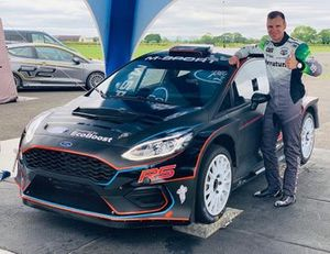 Janis Baumanis, Ford Fiesta R5 M-Sport test, Cumbria