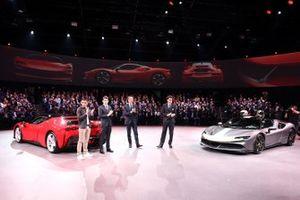 Ferrari SF90 Stradale, Leclerc, Galliera, Binotto