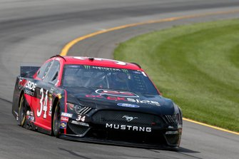 Michael McDowell, Front Row Motorsports, Ford Mustang Dockside Logistics