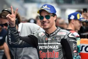 Second place Franco Morbidelli, Petronas Yamaha SRT