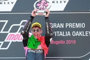 Podium: winner Tony Arbolino, Team O