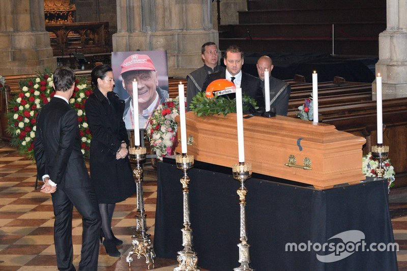 Funerale di Niki Lauda