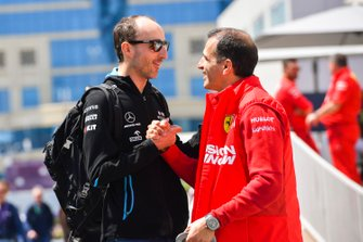 Robert Kubica, Williams Racing and Marc Gene, Ferrari