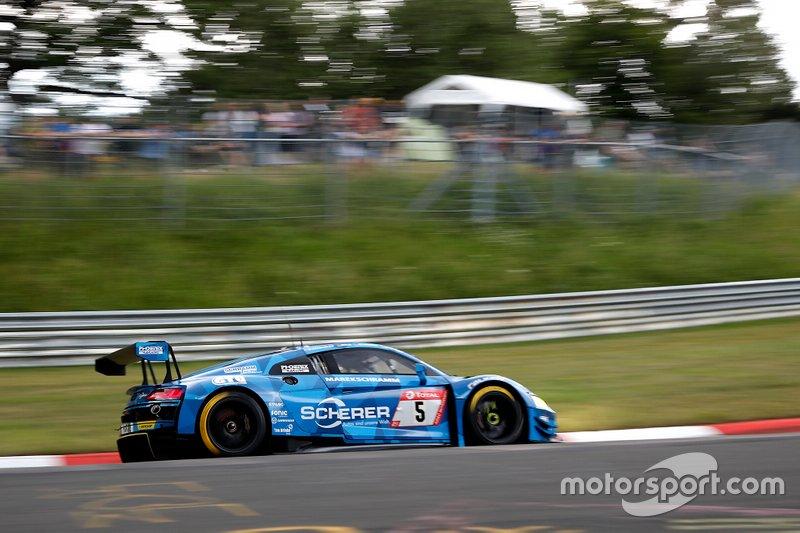 #5 Phoenix Racing Audi R8 LMS: Jamie Green, Vincent Kolb, Kim Luis Schramm, Frank Stippler