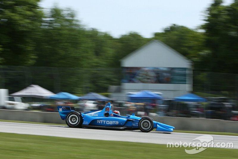 6. Felix Rosenqvist, Chip Ganassi Racing Honda