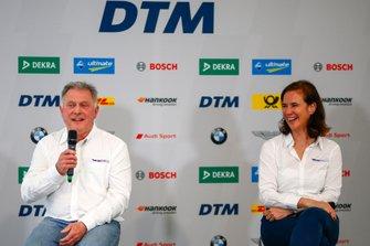 Dave Ryan und Catherine Bond Muir