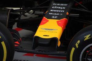 Red Bull detalle de la nariz