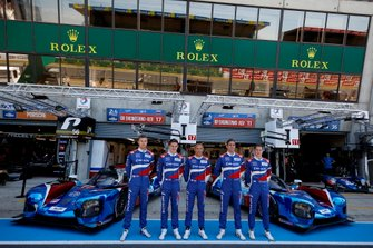#17 SMP Racing BR Engineering BR1: Stéphane Sarrazin, Egor Orudzhev, Sergey Sirotkin, #11 SMP Racing BR Engineering BR1: Mikhail Aleshin, Vitaly Petrov, Stoffel Vandoorne