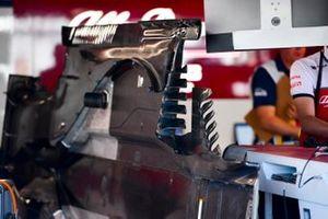 Floor of Alfa Romeo Racing C38