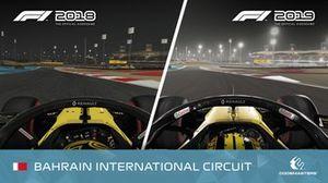 F1 2019 x F1 2018