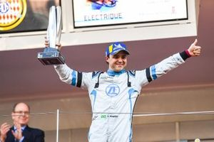 Felipe Massa, Venturi Formula E celebrates 3rd position on the podium