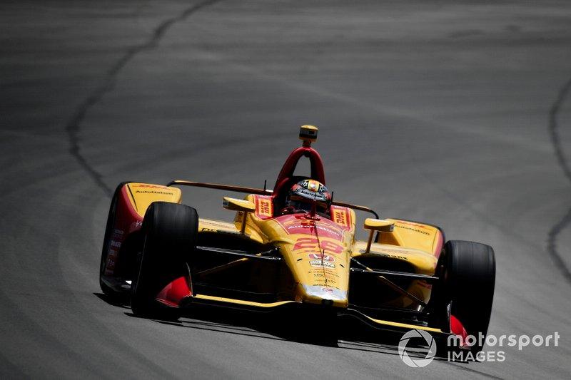 5. Ryan Hunter-Reay, Andretti Autosport Honda
