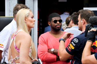 P.K. Subban, Ice Hockey Player with Lindsey Vonn