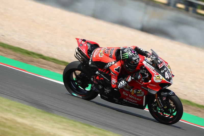 4. World Superbike: Scott Redding con Ducati