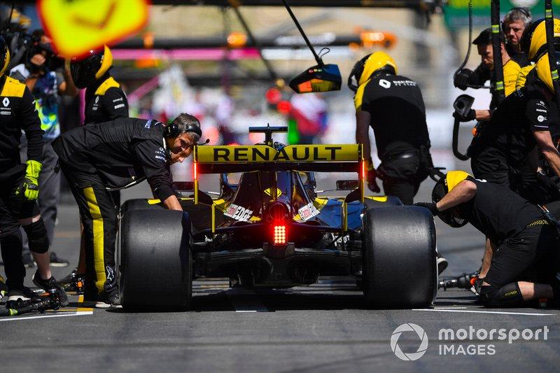 Пит-стоп: Даниэль Риккардо, Renault Sport F1 Team R.S.19