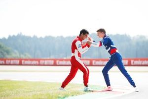 Jehan Daruvala, PREMA Racing en Robert Shwartzman, PREMA Racing