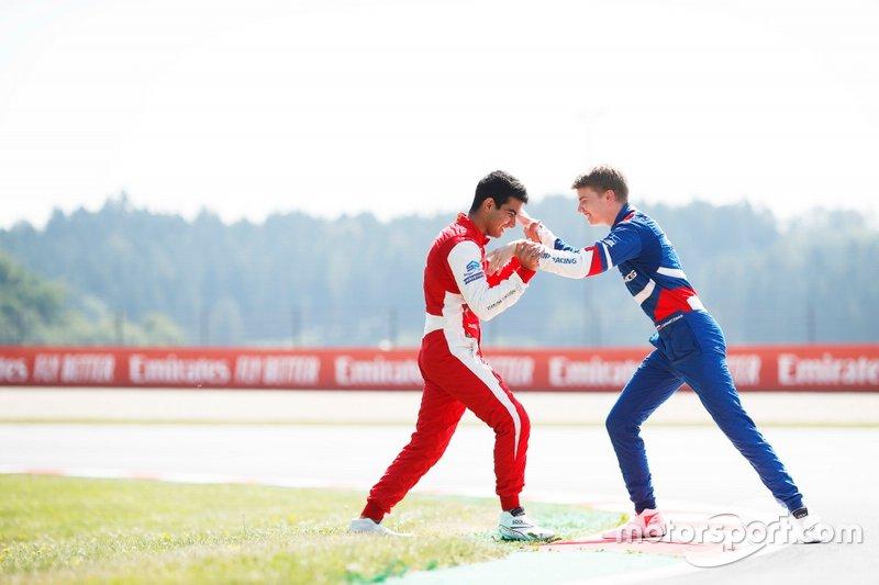 Jehan Daruvala, PREMA Racing e Robert Shwartzman, PREMA Racing