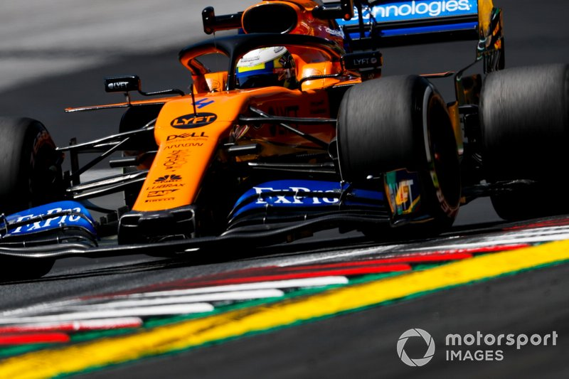 5: Lando Norris, McLaren MCL34, 1'04.099