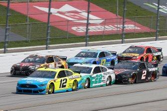 Ryan Blaney, Team Penske, Ford Mustang Menards/Knauf Joey Logano, Team Penske, Ford Mustang MoneyLion