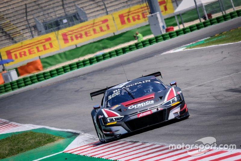 #66 Attempto Racing Audi R8 LMS GT3: Kelvin van der Linde, Clemens Schmid