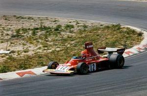 El ganador del GP de Holanda 1974: Niki Lauda, Ferrari 312B3