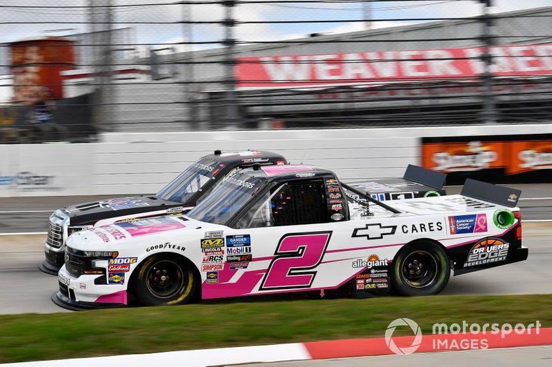 #2: Sheldon Creed, GMS Racing, Chevrolet Silverado Chevrolet Cares