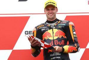 Podium: second place Brad Binder, KTM Ajo