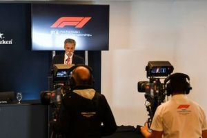 The 2021 Formula 1 technical regulations are announced, Chase Carey, Chairman, Formula 1