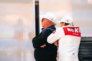 Felipe Massa, Venturi avec son père dans le garage