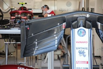 الجناح الأمامي لسيارة ألفا روميو سي38