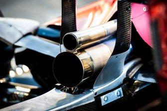 L'échappement de l'Alfa Romeo Racing C38