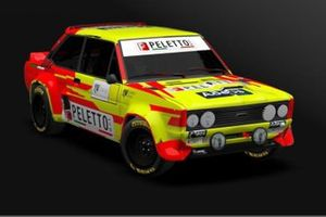 Rendering Fiat 131 Paolo Diana, Peletto Racing Team