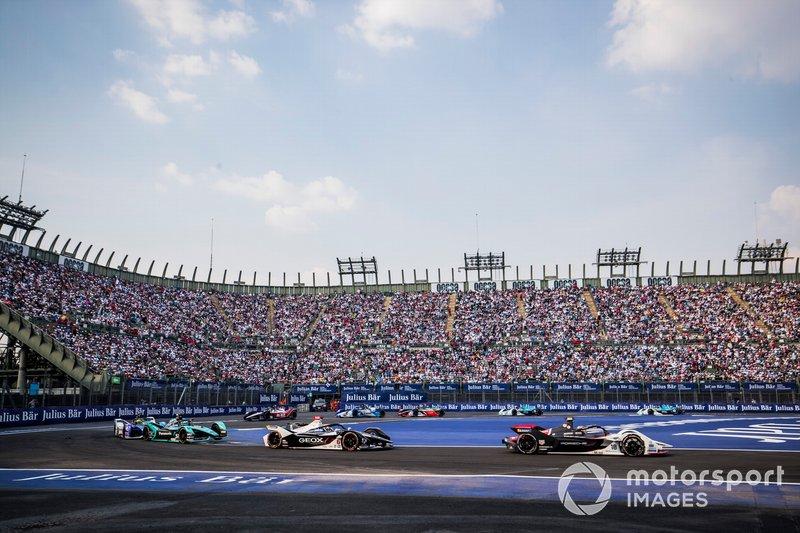 Neel Jani, Porsche, Porsche 99x Electric Brendon Hartley, Dragon Racing, Penske EV-4, James Calado, Jaguar Racing, Jaguar I-Type 4