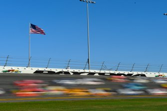 Renn-Action auf dem Daytona International Speedway