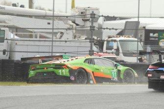 Ausritt: #11 GRT Grasser Racing Team Lamborghini Huracan GT3, GTD: Richard Heistand, Steijn Schothorst, Albert Costa