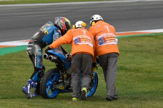 Alonso Lopez, Estrella Galicia 0,0 after his crash