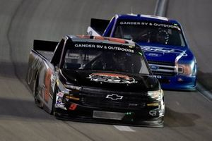 Codie Rohrbaugh, CR7 Motorsports, Chevrolet Silverado GCM/CR7 Motorsports and Tanner Gray, DGR-Crosley, Ford F-150 Ford | Ford Performance