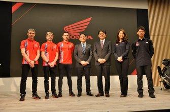 Alvaro Bautista,Leon Haslam,Takumi Takahashi, Team HRC