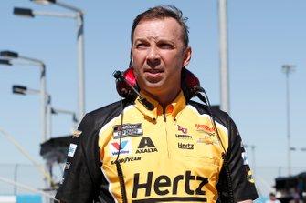 William Byron, Hendrick Motorsports, Chevrolet Camaro Hertz Crew chief Chad Knaus