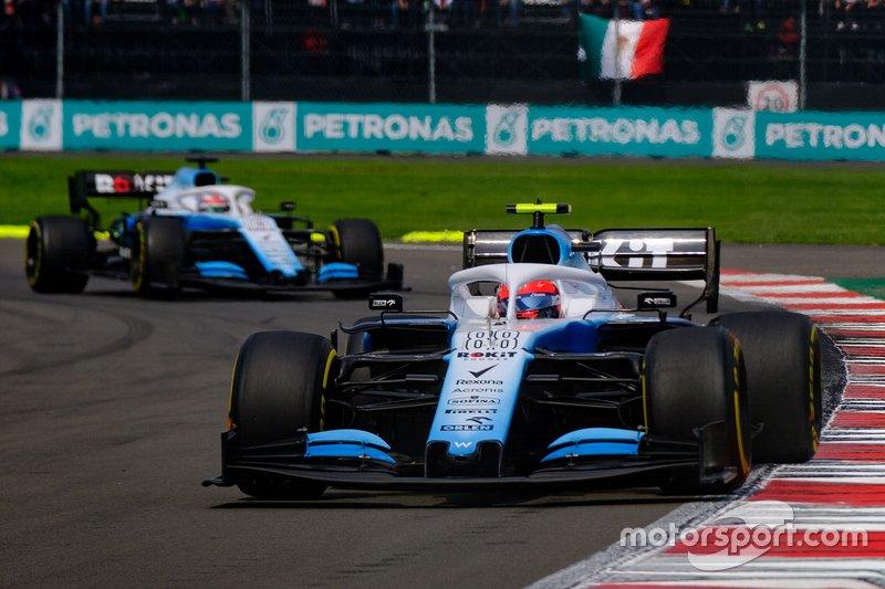 Robert Kubica, Williams FW42,George Russell, Williams FW42