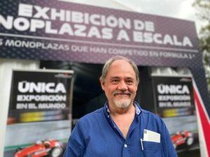 Jesús Gisholt owner F1 miniature car collection