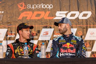 David Reynolds, Erebus Motorsport Holden, Shane van Gisbergen, Triple Eight Race Engineering Holden